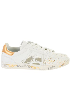 PREMIATA - WHITE ANDY SNEAKERS