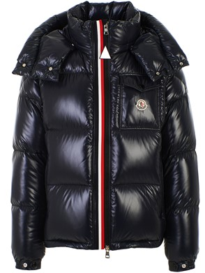 MONCLER - BLUE MONTBELIARD DOWN JACKET