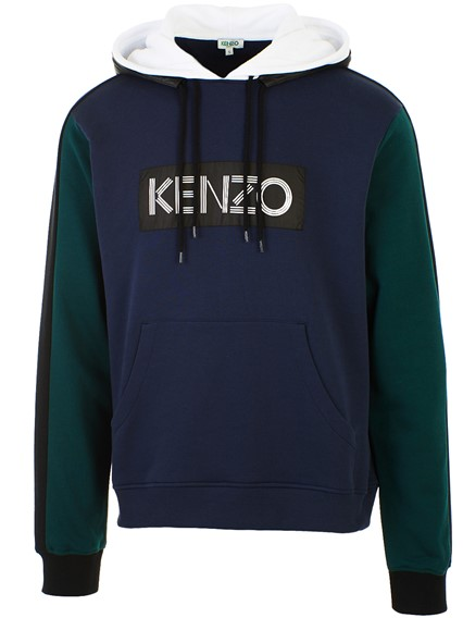 283b6cb1 kenzo GREEN AND BLUE HOODIE available on lungolivigno.com - 26917