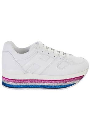 HOGAN - WHITE MAXI SNEAKERS