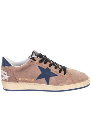 GOLDEN GOOSE DELUXE BRAND - BROWN BALL SNEAKERS