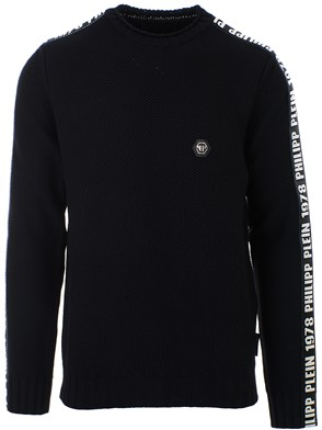 PHILIPP PLEIN - BLACK SWEATER