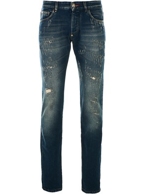 PHILIPP PLEIN - BLUE WALK OF FAME JEANS