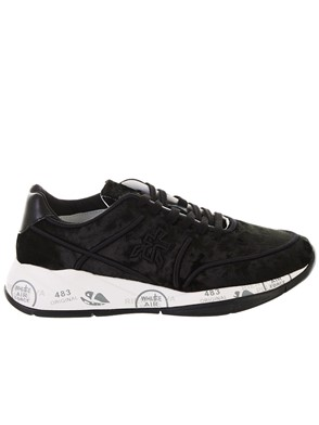 PREMIATA - BLACK LIU SNEAKERS