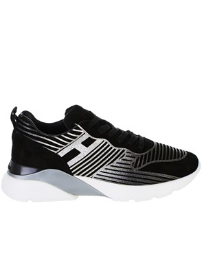HOGAN - BLACK RUNNING SNEAKERS
