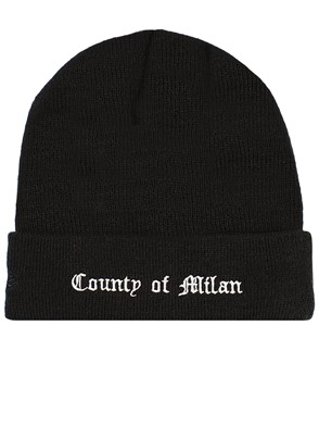 MARCELO BURLON COUNTY OF MILAN - BLACK DODGERS BANIE