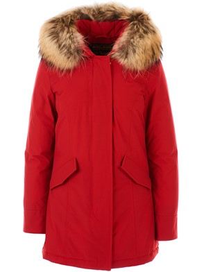 WOOLRICH - RED ARCTIC PARKA