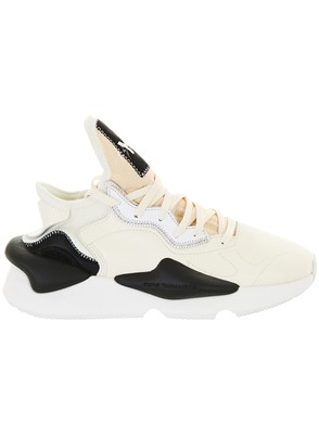 Y-3 - BLACK AND CREAM KAIWA SNEAKERS