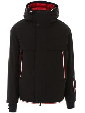 MONCLER - BLACK MILLER DOWN JACKET