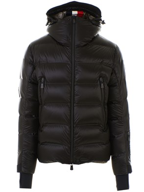 MONCLER - BLACK SESTRIERTECH DOWN JACKET