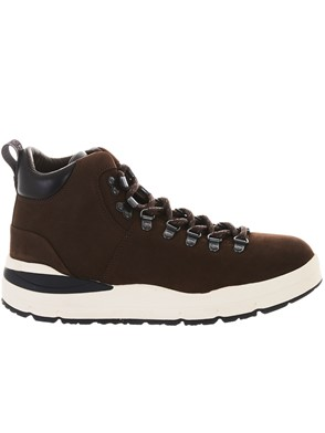 WOOLRICH - BROWN HIKER SNEAKERS