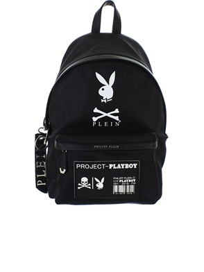PHILIPP PLEIN - BLACK BACKPACK