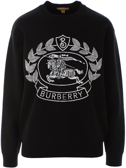 BURBERRY BLACK BILSTON SWEATER