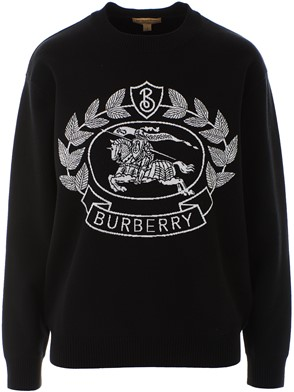 BURBERRY - BLACK BILSTON SWEATER