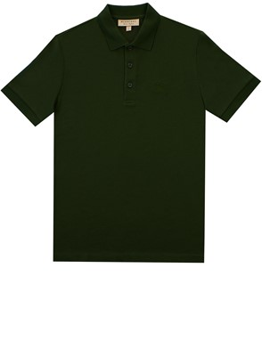 BURBERRY - POLO HARTFORD VERDE