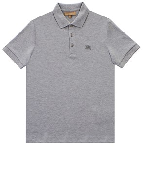 BURBERRY - POLO HARTFORD GRIGIA