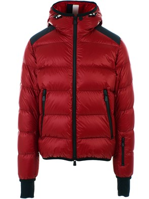 MONCLER - RED HINTERTUX DOWN JACKET