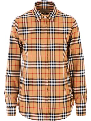 BURBERRY - ANTIQUE YELLOW CROW SHIRT