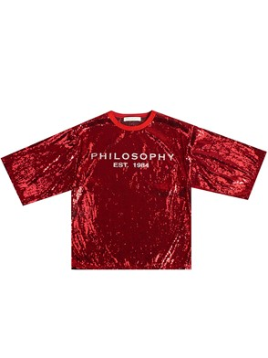 1f423de4 philosophy by lorenzo serafini T-SHIRT NERA available on ...