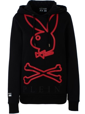 PHILIPP PLEIN - BLACK PLAYBOY SWEATSHIRT