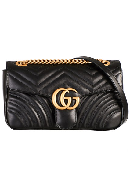 a722228c110 gucci BLACK GG MARMONT BAG available on lungolivigno.com - 27125