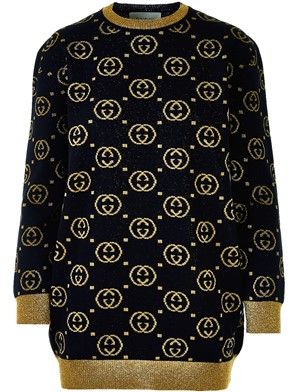 GUCCI - BLACK DOUBLE G SWEATER