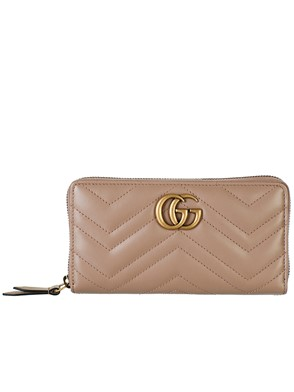 GUCCI - PINK GG MARMONT WALLET