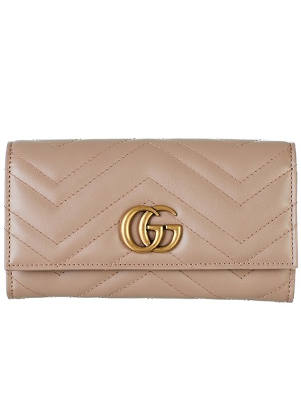 83b399ea776 gucci PINK GG MARMONT WALLET available on lungolivigno.com - 27163