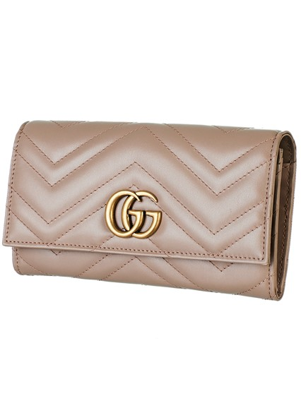 5ad566b53f31 gucci PINK GG MARMONT WALLET available on lungolivigno.com - 27163
