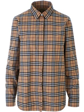BURBERRY - BEIGE CROW SHIRT