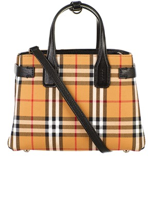 BURBERRY - BORSA BANNER CHECK