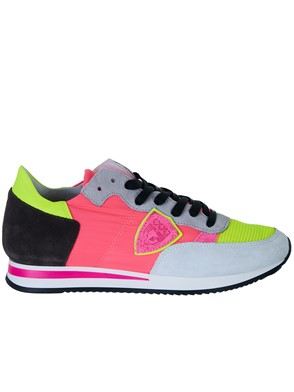 PHILIPPE MODEL - FUCSIA TROPEZ SNEAKERS