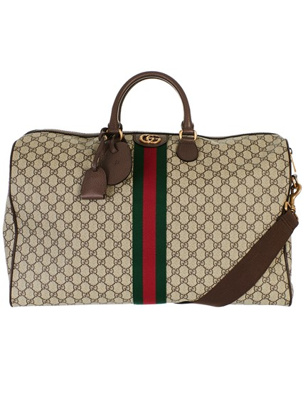 gucci BEIGE OPHIDIA DUFFLE BAG available on lungolivigno.com - 27201
