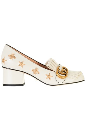 GUCCI - WHITE PUMPS