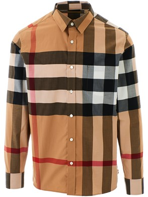 BURBERRY - CAMICIA WINDSOR BEIGE