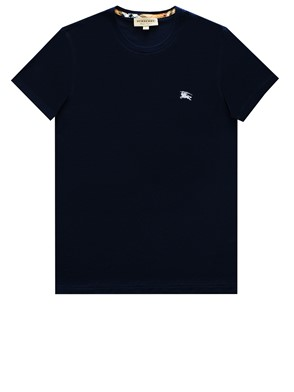 BURBERRY - T-SHIRT JOEFORTH BLU NAVY