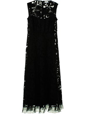 RED VALENTINO - BLACK DRESS