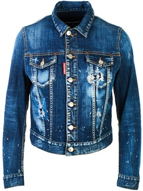 DSQUARED2 - BLUE DENIM JACKET