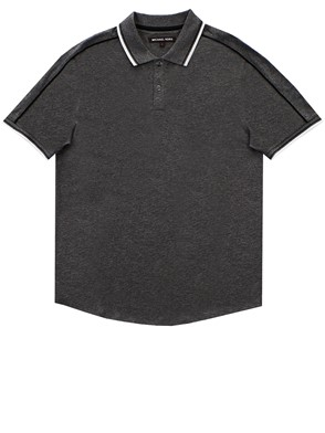 MICHAEL MICHAEL KORS - GREY POLO SHIRT