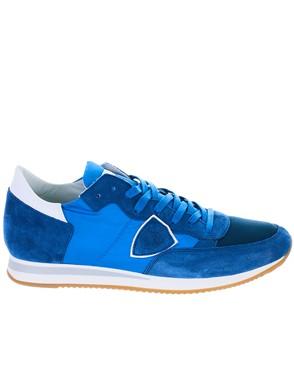 PHILIPPE MODEL - BLUE TROPEZ SNEAKERS