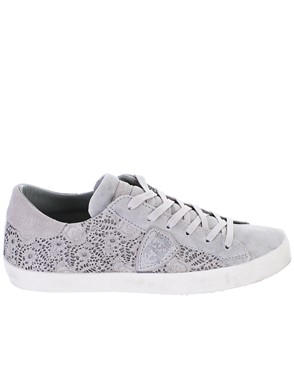 PHILIPPE MODEL - GREY PARIS SNEAKERS