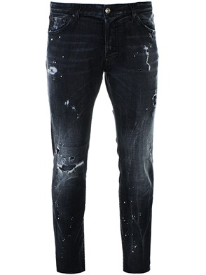 DSQUARED2 - DARK GREY COOL GUY JEANS