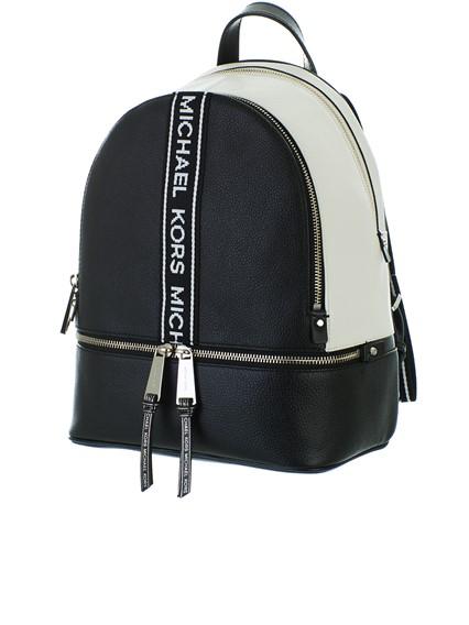 278996e4a270e michael michael kors BLACK RHEA BACKPACK available on lungolivigno ...