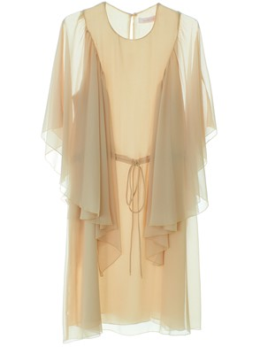 SEE BY CHLOE' - BEIGE FOGGY DRESS