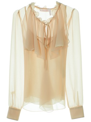 SEE BY CHLOE' - BEIGE FOGGY BLOUSE