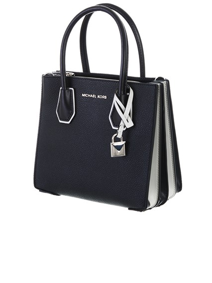 ff2ef921a6f michael michael kors BLACK MERCER BAG available on lungolivigno.com ...