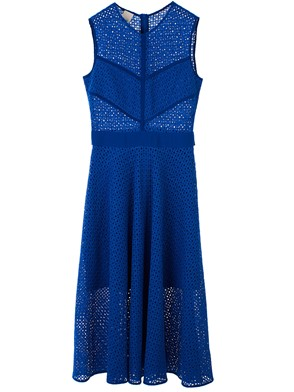 PINKO - BLUE CELIBE DRESS
