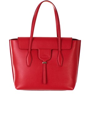 TOD'S - RED NEW JOY TOTE BAG