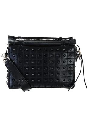 TOD'S - BLACK BUCKET BAG