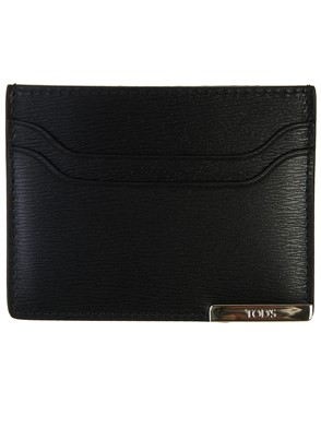 TOD'S - BLACK CARD HOLDER
